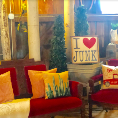 "Road Trip to the Barn:""I Heart Junk"""