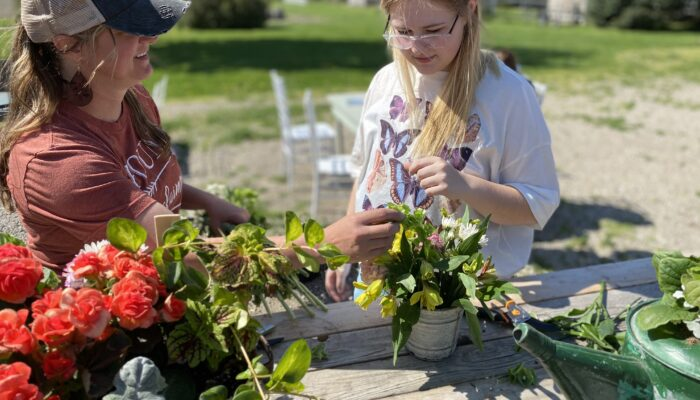 Mom & Me Workshops at the Barn